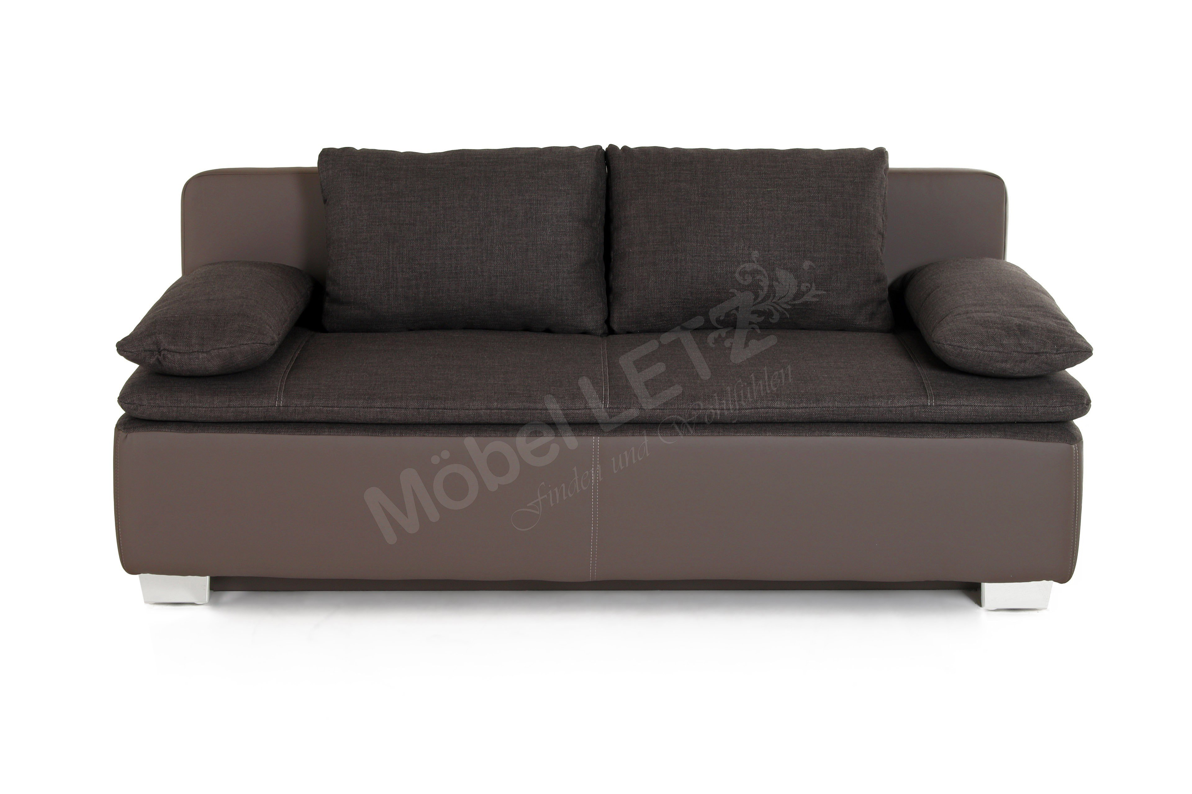 jockenh fer schlafsofa duett in braun m bel letz ihr online shop. Black Bedroom Furniture Sets. Home Design Ideas
