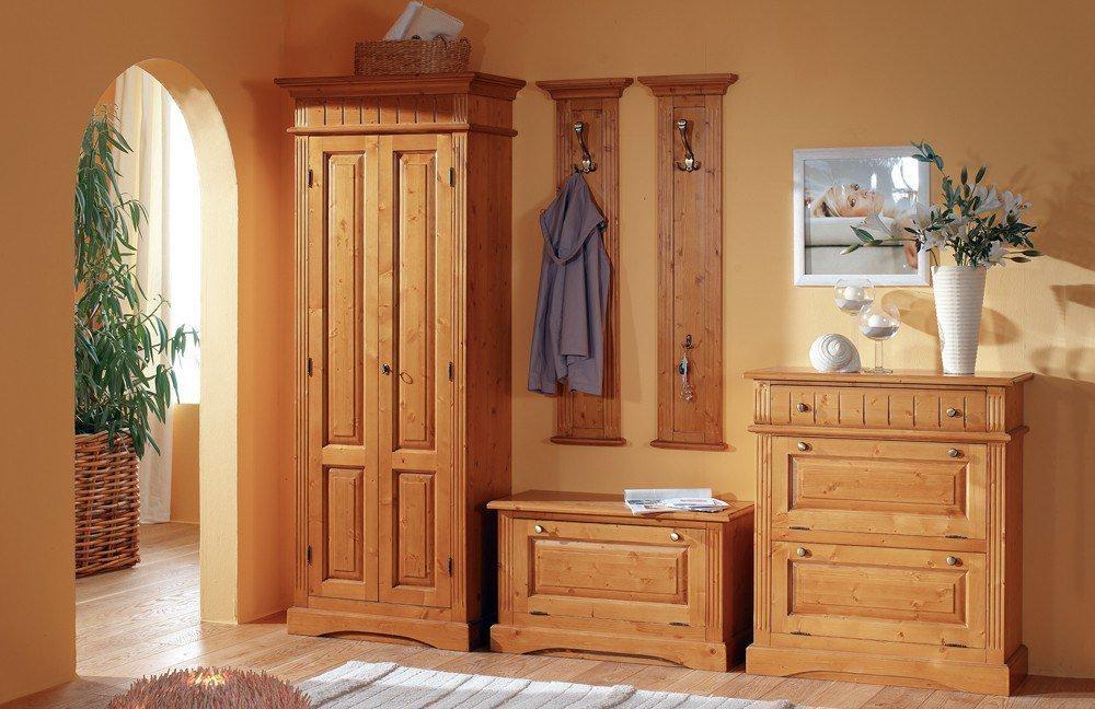 garderobe lara fichte von gradel m bel letz ihr online shop. Black Bedroom Furniture Sets. Home Design Ideas