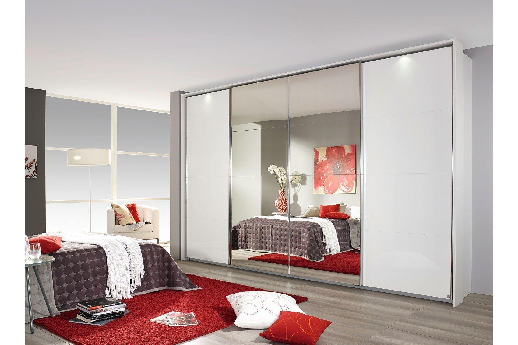 rauch schrank syncrono dekor glas spiegel m bel letz ihr online shop. Black Bedroom Furniture Sets. Home Design Ideas