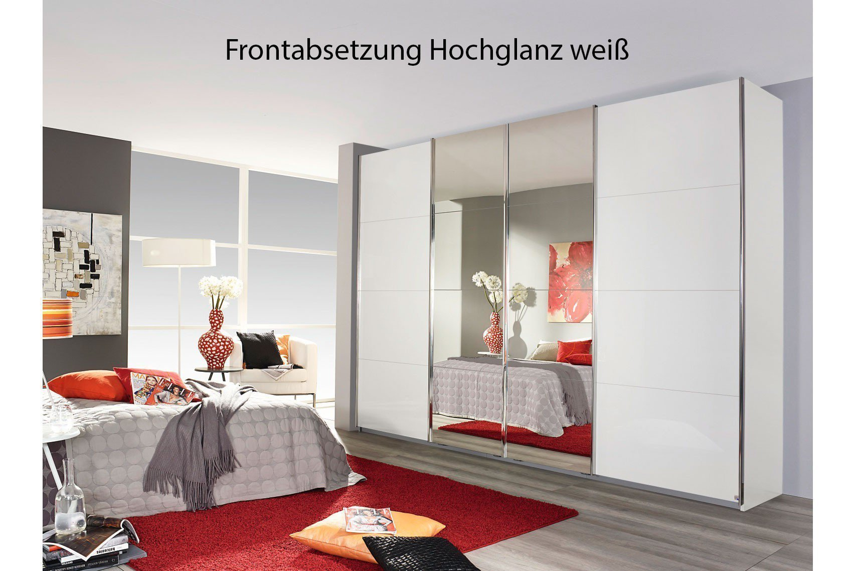 rauch schrank syncrono dekor glas spiegel m bel letz ihr online shop. Black Bedroom Furniture Sets. Home Design Ideas