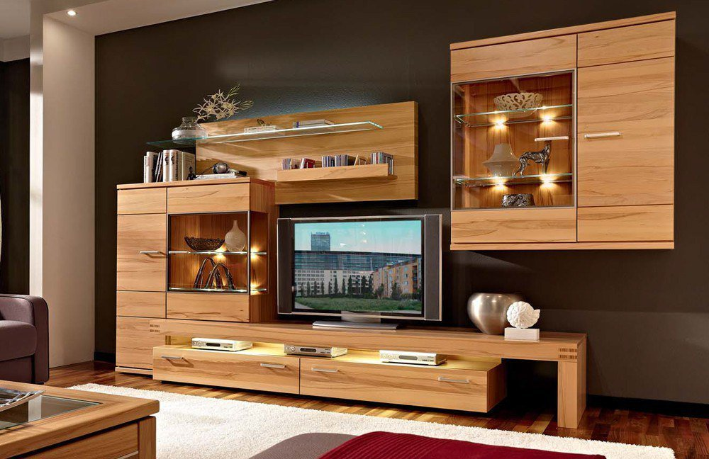 schr der m bel wohnwand cara v16 m bel letz ihr online shop. Black Bedroom Furniture Sets. Home Design Ideas