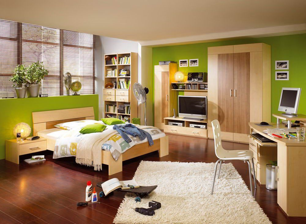 r hr bush vegas jugendzimmer kirsch ahorn m bel letz. Black Bedroom Furniture Sets. Home Design Ideas