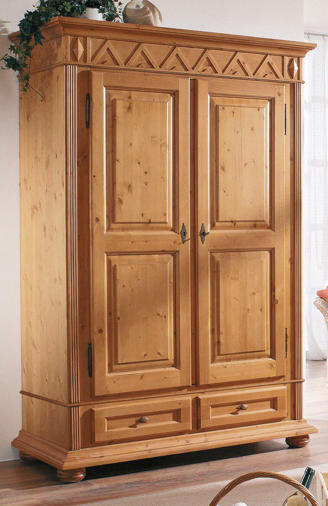 garderobe gloria fichtenholz gradel m bel letz ihr online shop. Black Bedroom Furniture Sets. Home Design Ideas