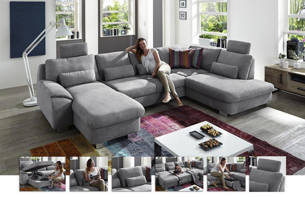zehdenick elmira sofa hellgrau m bel letz ihr online shop. Black Bedroom Furniture Sets. Home Design Ideas