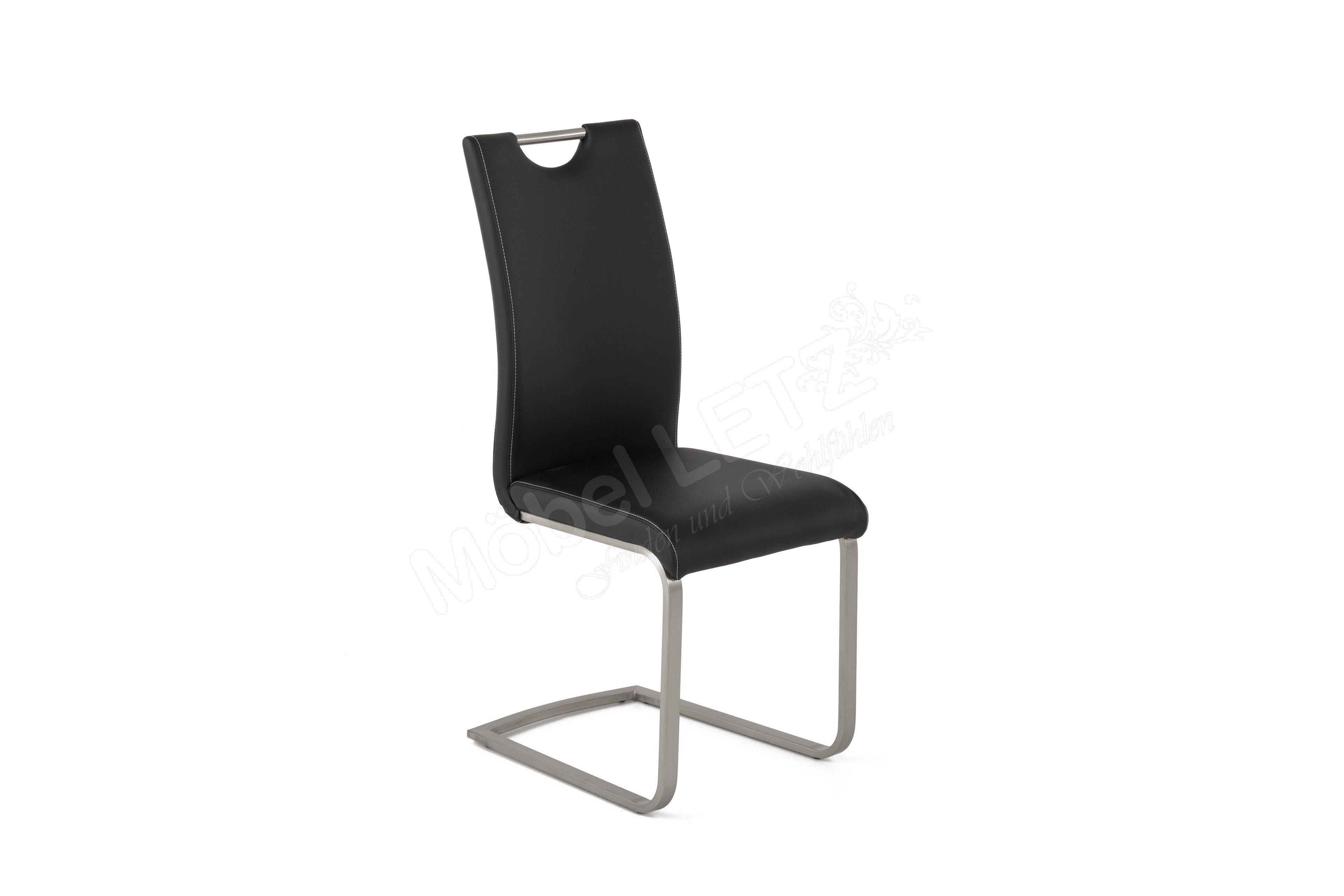 freischwinger paulo emelina schwarz von mca m bel letz. Black Bedroom Furniture Sets. Home Design Ideas