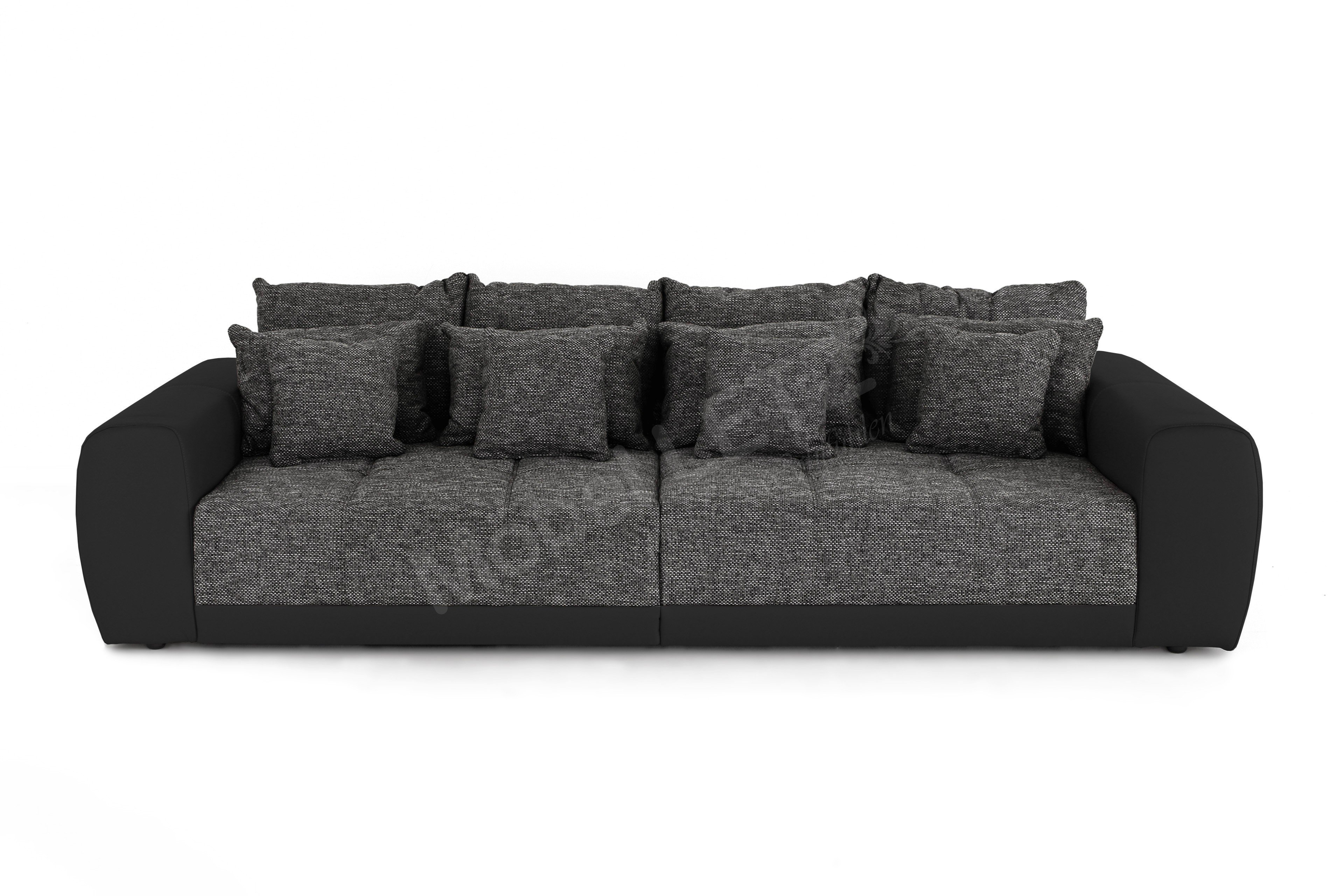 jockenh fer big sofa samy in grau schwarz m bel letz ihr online shop. Black Bedroom Furniture Sets. Home Design Ideas