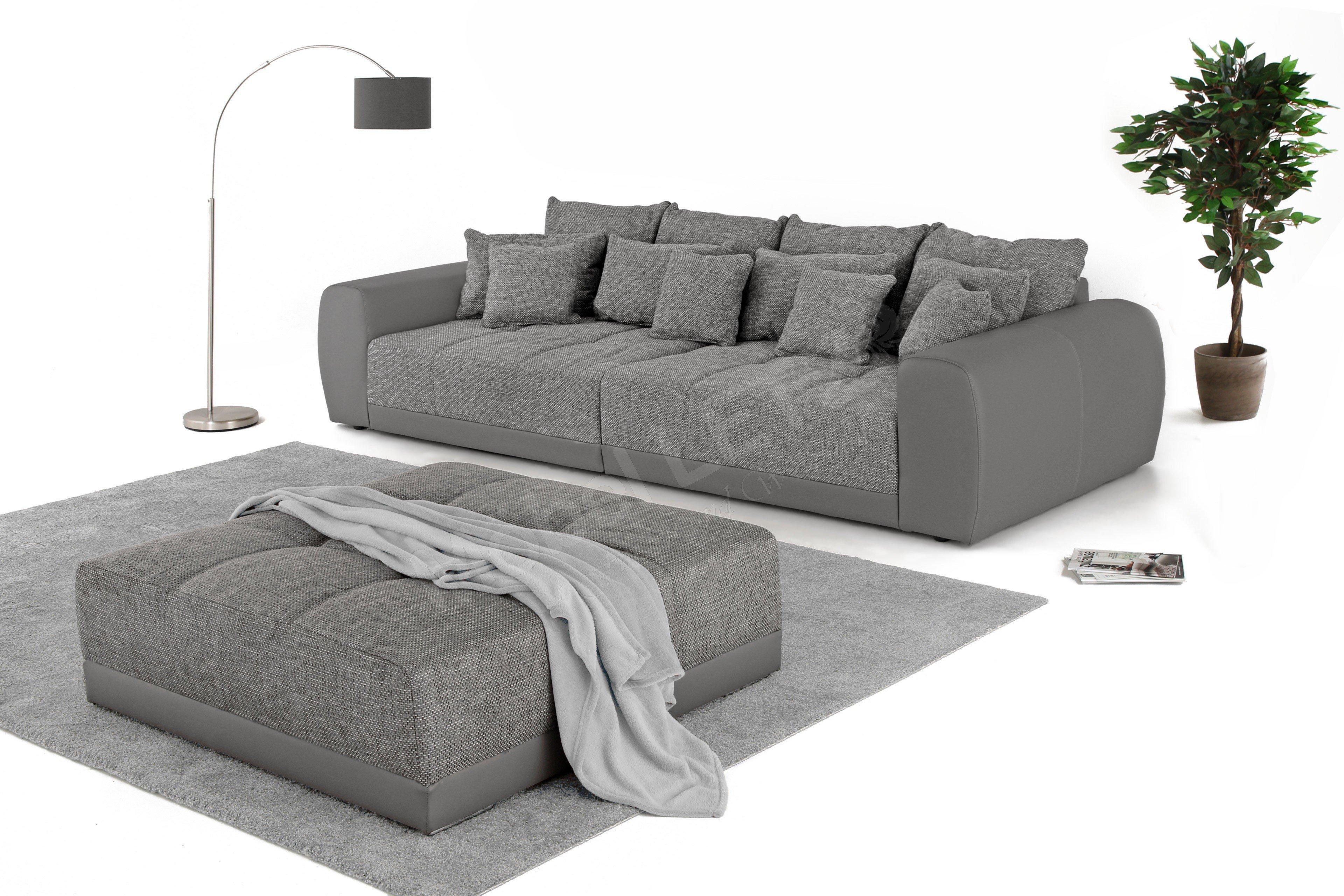 Samy Von Job Big Sofa Grau