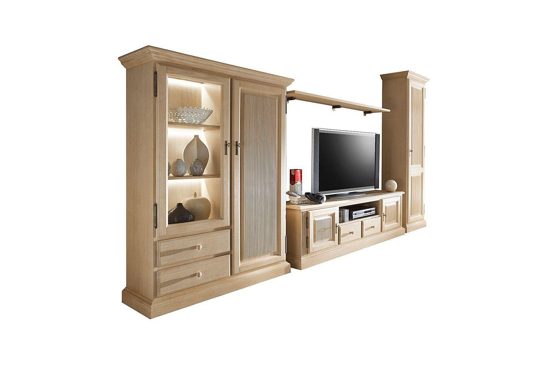 rojas mobiliario wohnwand cadiz 002 massive pinie m bel letz ihr online shop. Black Bedroom Furniture Sets. Home Design Ideas