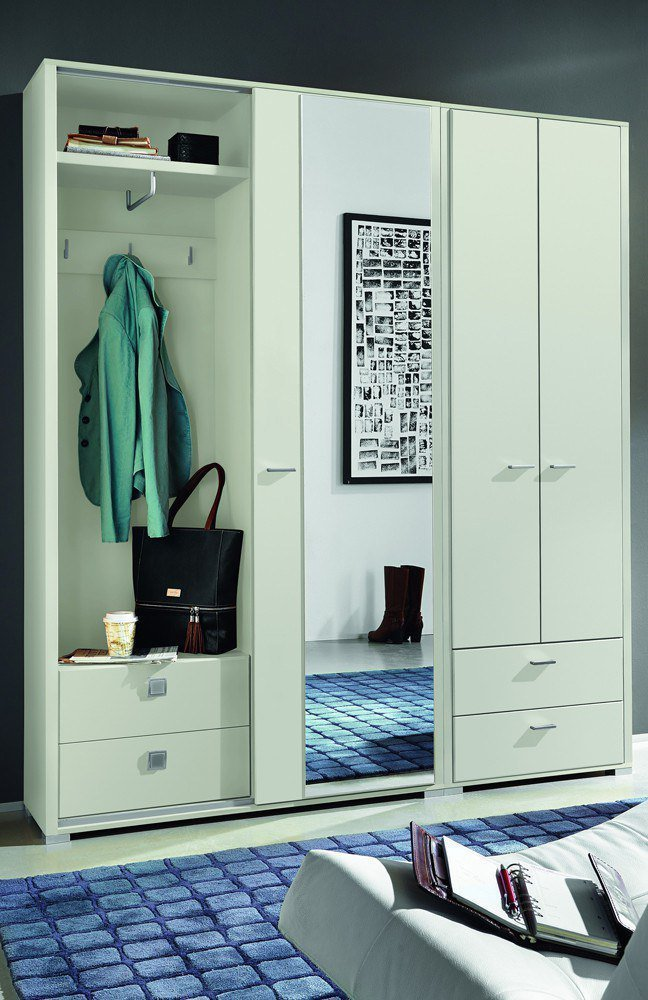 garderobe florenz wei leinkenjost m bel letz ihr. Black Bedroom Furniture Sets. Home Design Ideas