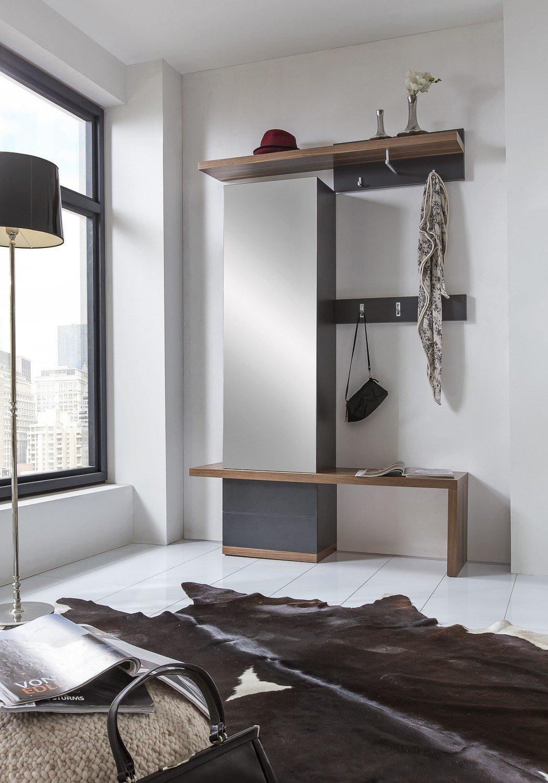 bienenm hle garderobe cade 01 grau m bel letz ihr. Black Bedroom Furniture Sets. Home Design Ideas