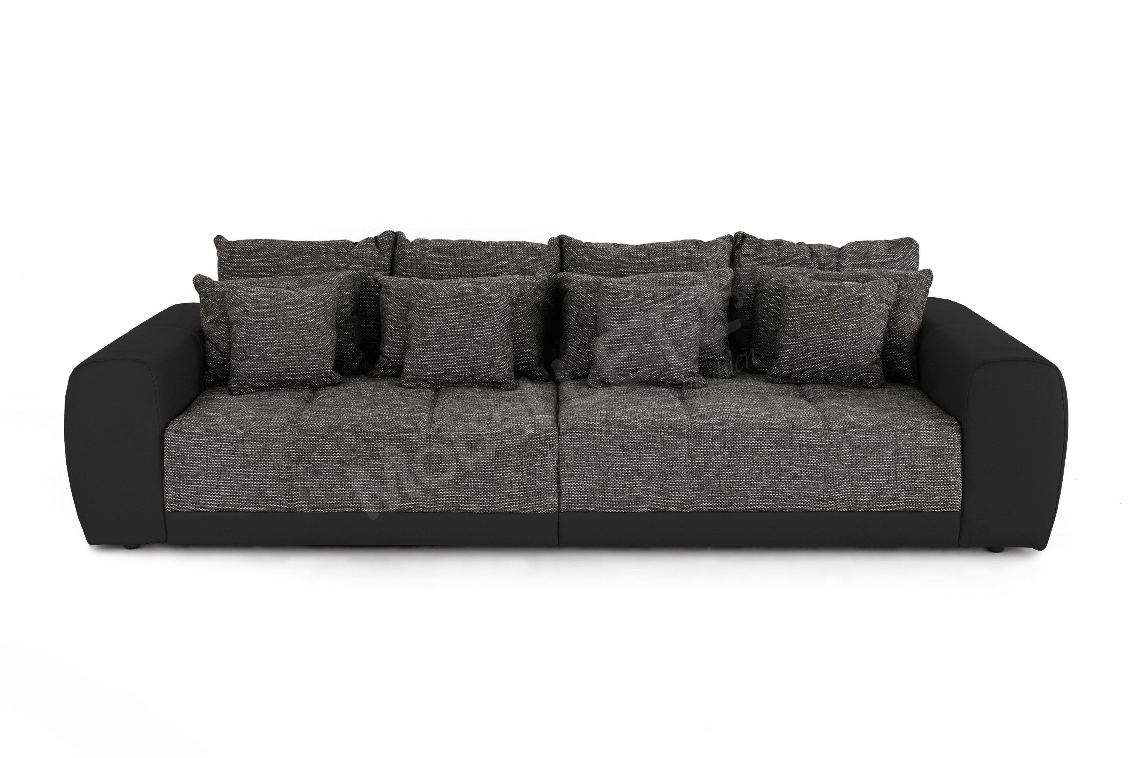 jockenh fer mega sofa samy in grau schwarz m bel letz ihr online shop. Black Bedroom Furniture Sets. Home Design Ideas