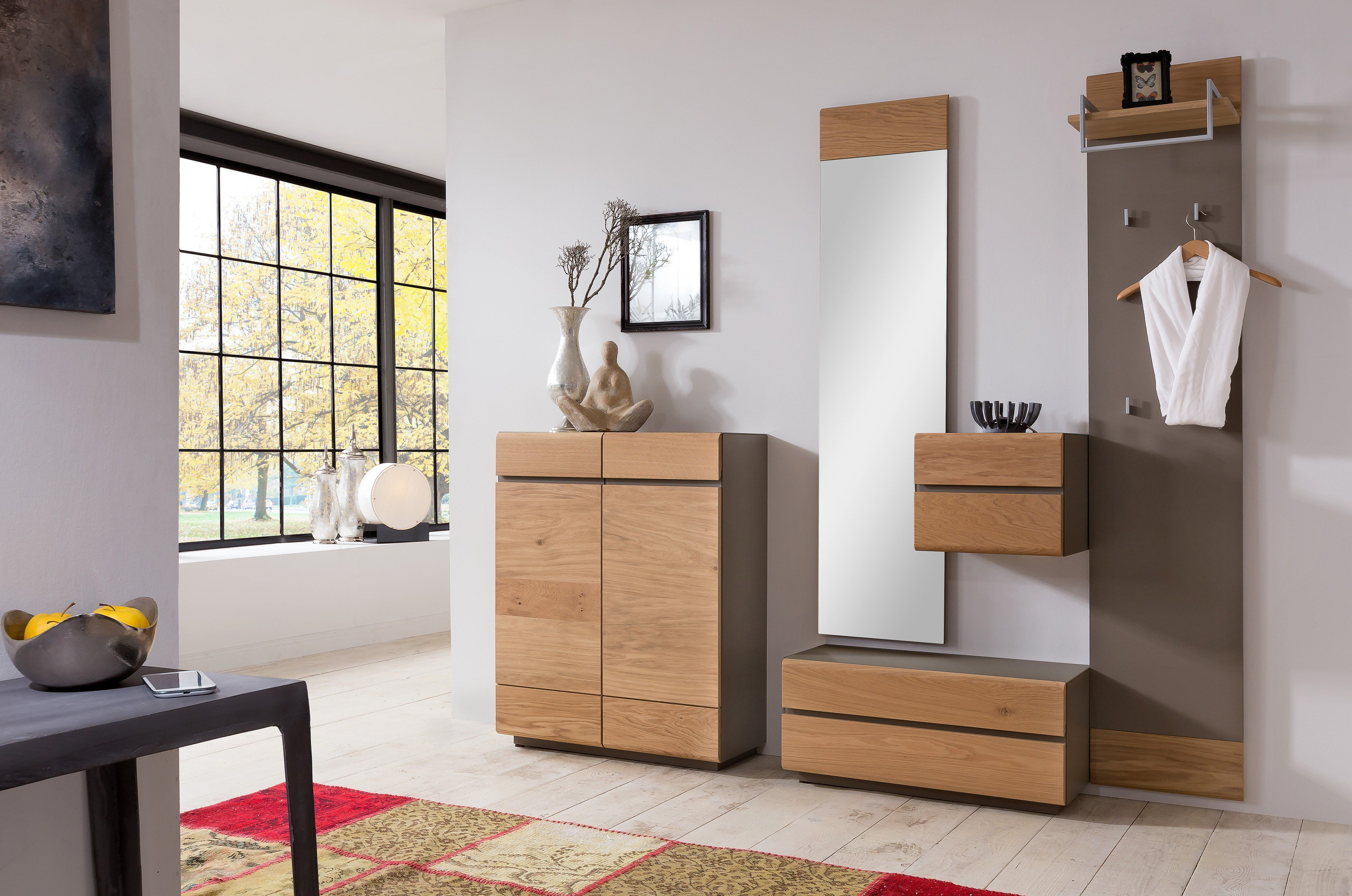 garderobe wildeiche granit von bienenm hle m bel letz. Black Bedroom Furniture Sets. Home Design Ideas
