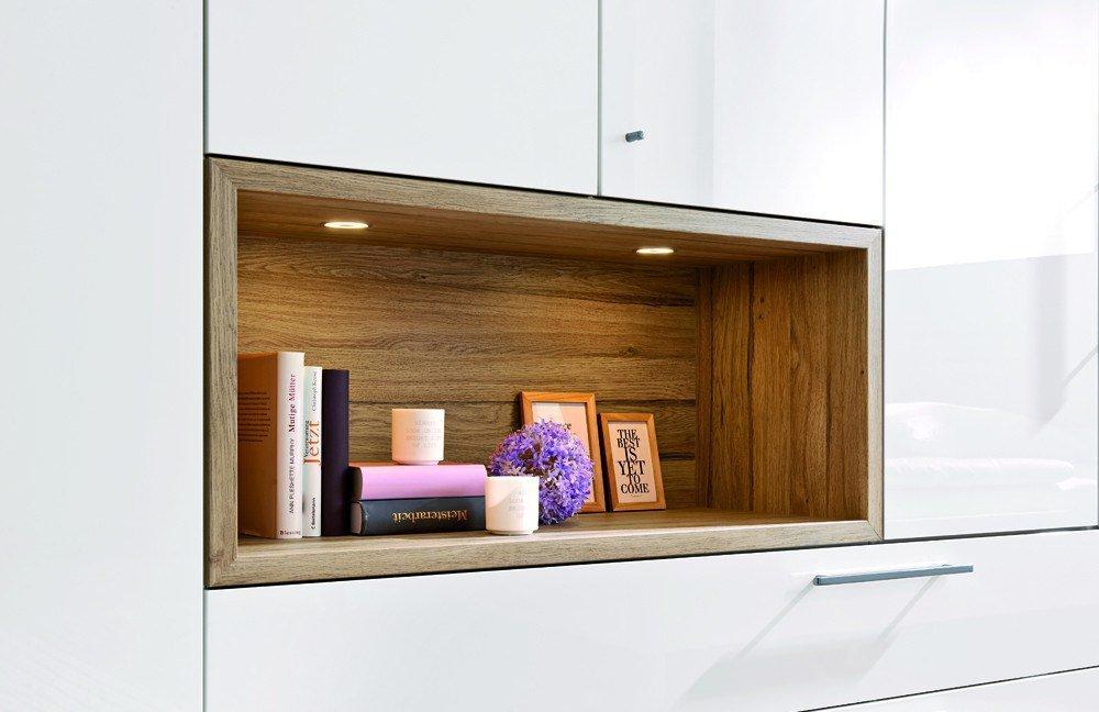 loddenkemper zamaro eiche hochglanz wei m bel letz ihr online shop. Black Bedroom Furniture Sets. Home Design Ideas