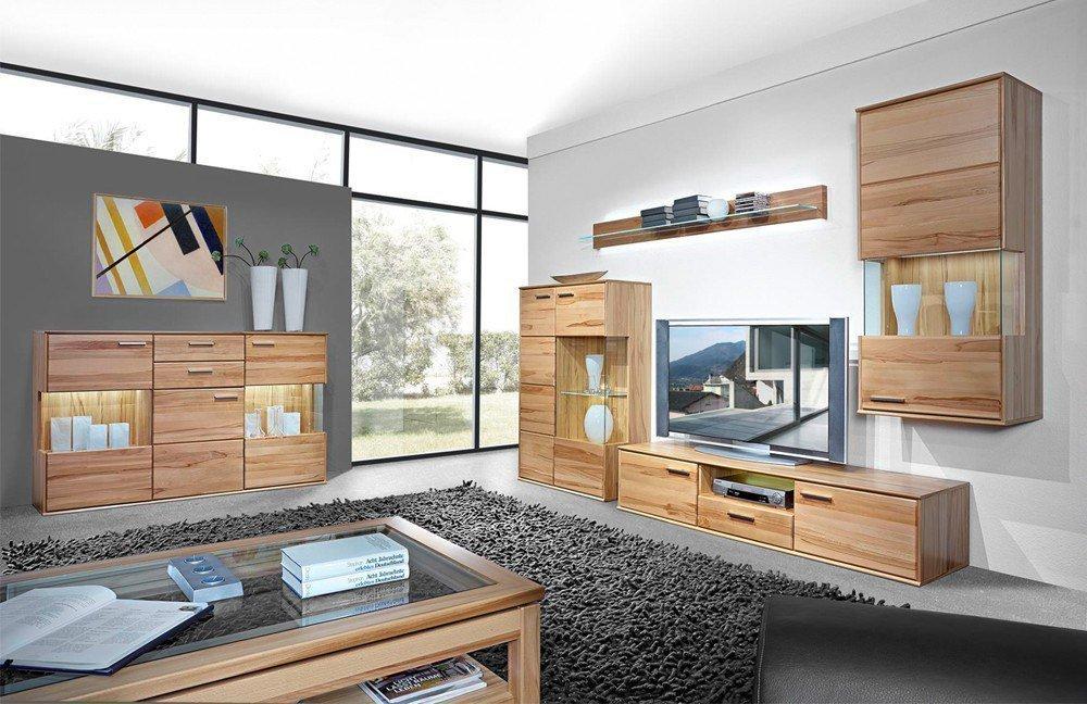 schr der m bel wohnwand vita k006 kernbuche m bel letz ihr online shop. Black Bedroom Furniture Sets. Home Design Ideas