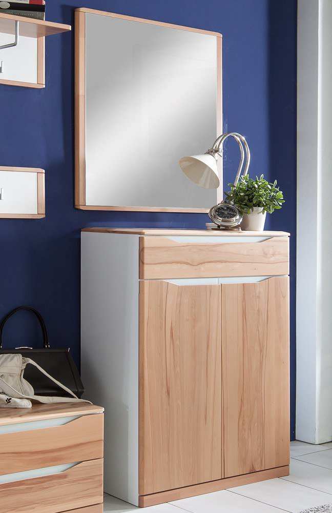 bienenm hle garderobe paso kernbuche wei m bel letz ihr online shop. Black Bedroom Furniture Sets. Home Design Ideas