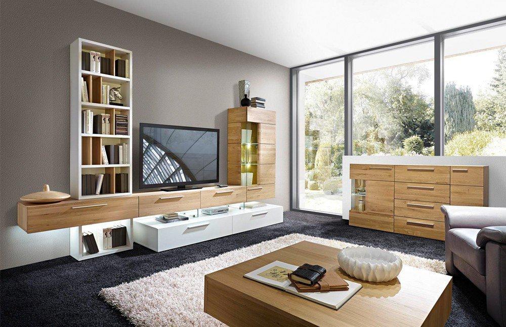 schr der m bel wohnwand vivendi k005 asteiche m bel letz ihr online shop. Black Bedroom Furniture Sets. Home Design Ideas