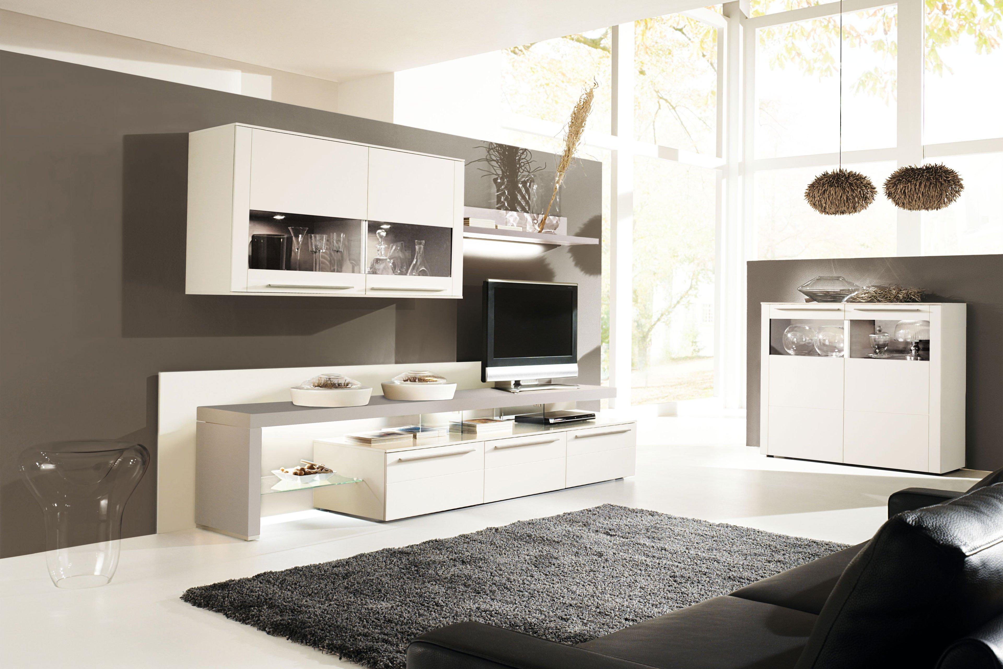 gwinner wohnwand bellano be29 wei kaschmir m bel letz. Black Bedroom Furniture Sets. Home Design Ideas