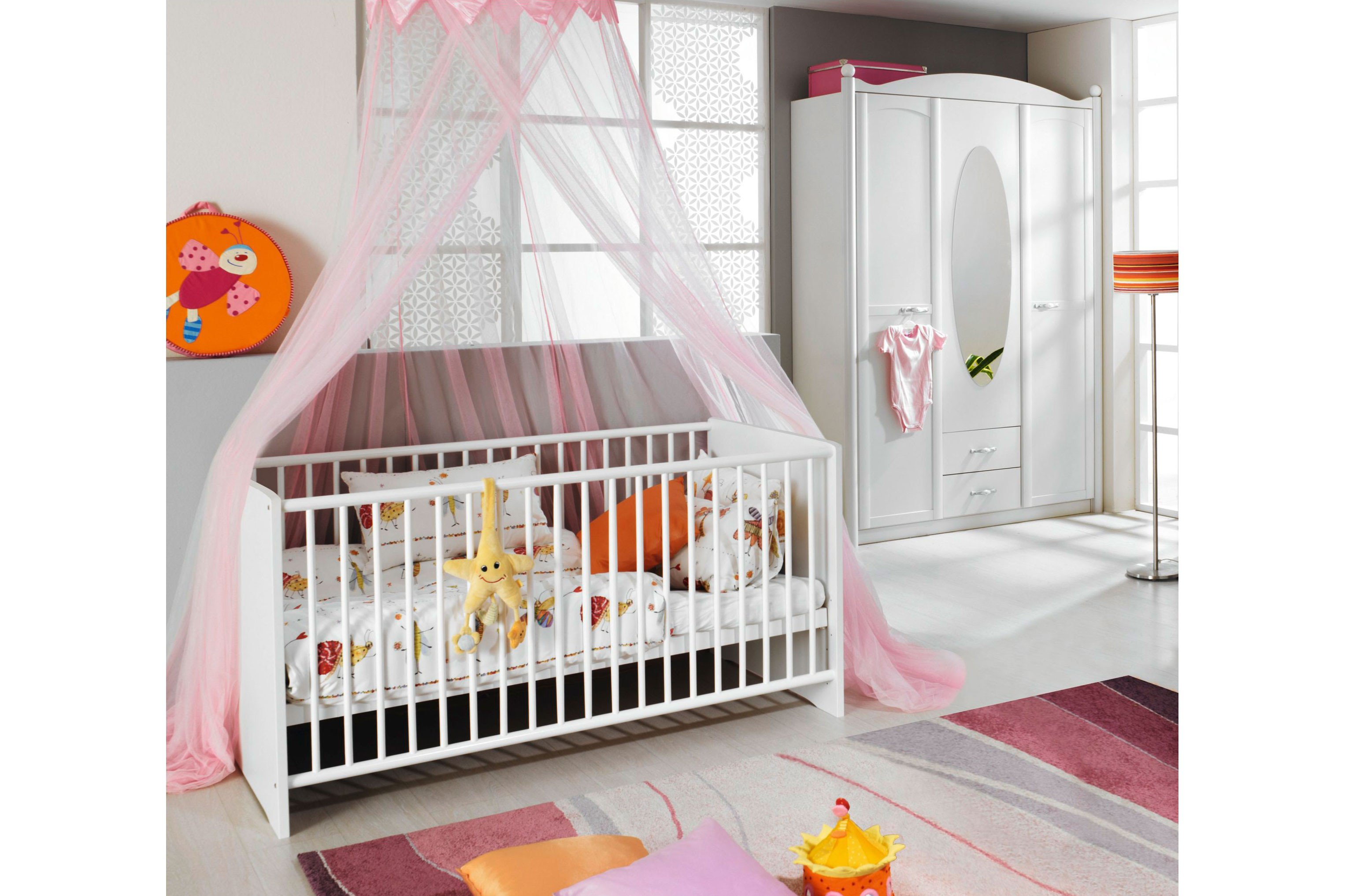 Lilly Von Rauch Packs Babyzimmer Set In Weiss