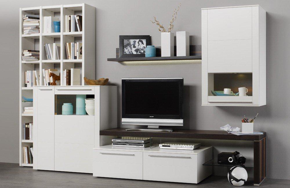 Wohnwand Bellano BE85 von Gwinner Wohndesign  Möbel Letz