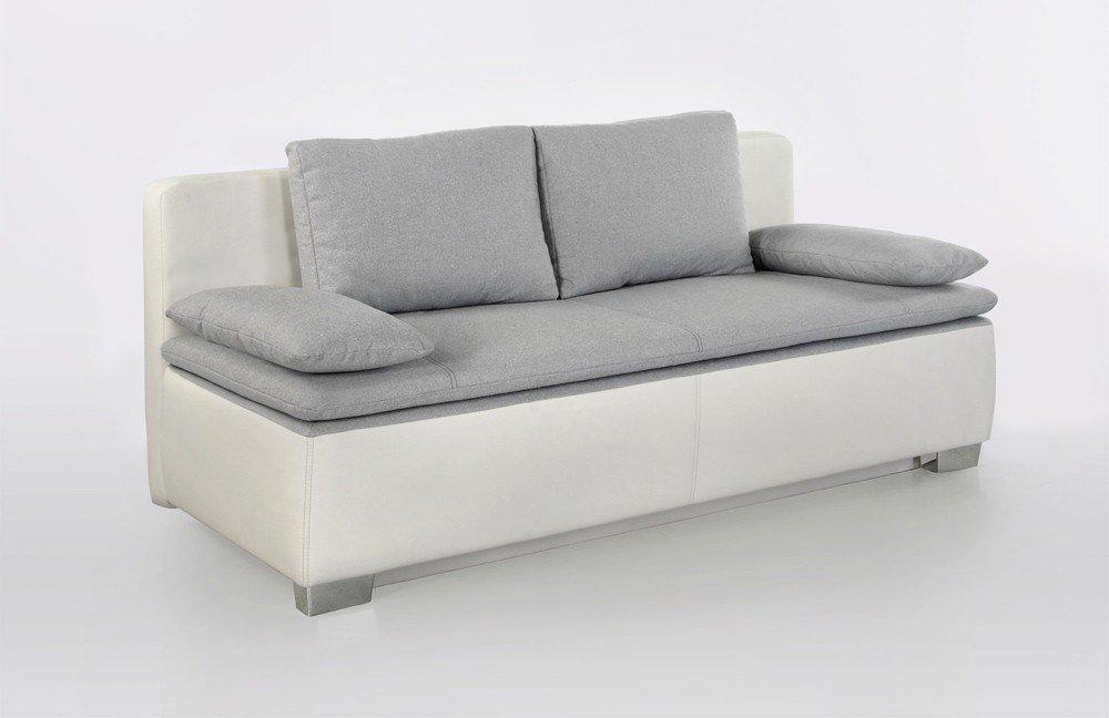 duett von jockenh fer schlafsofa in wei grau m bel letz ihr online shop. Black Bedroom Furniture Sets. Home Design Ideas