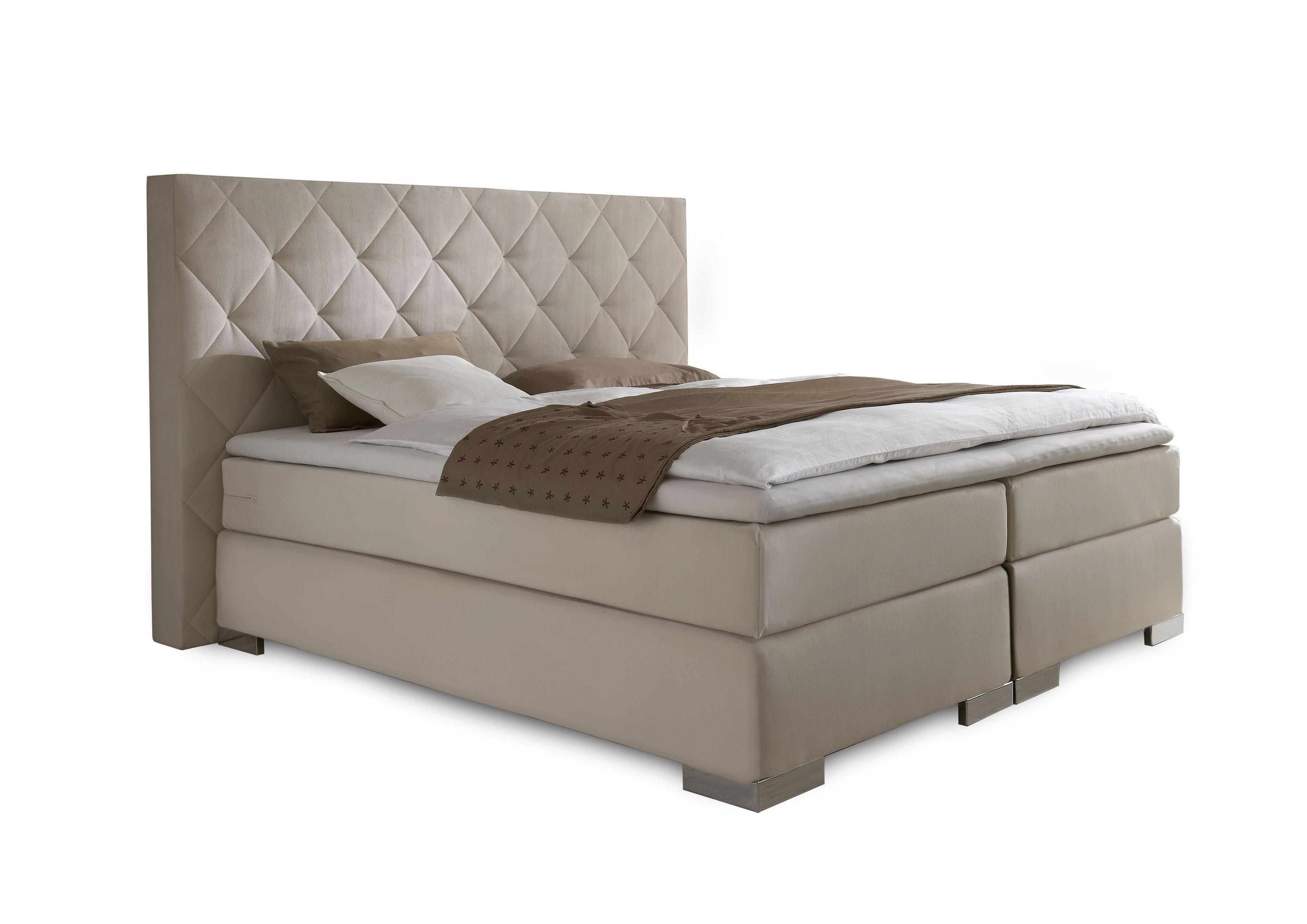 dico m bel bs9050 boxspringbett in creme m bel letz. Black Bedroom Furniture Sets. Home Design Ideas