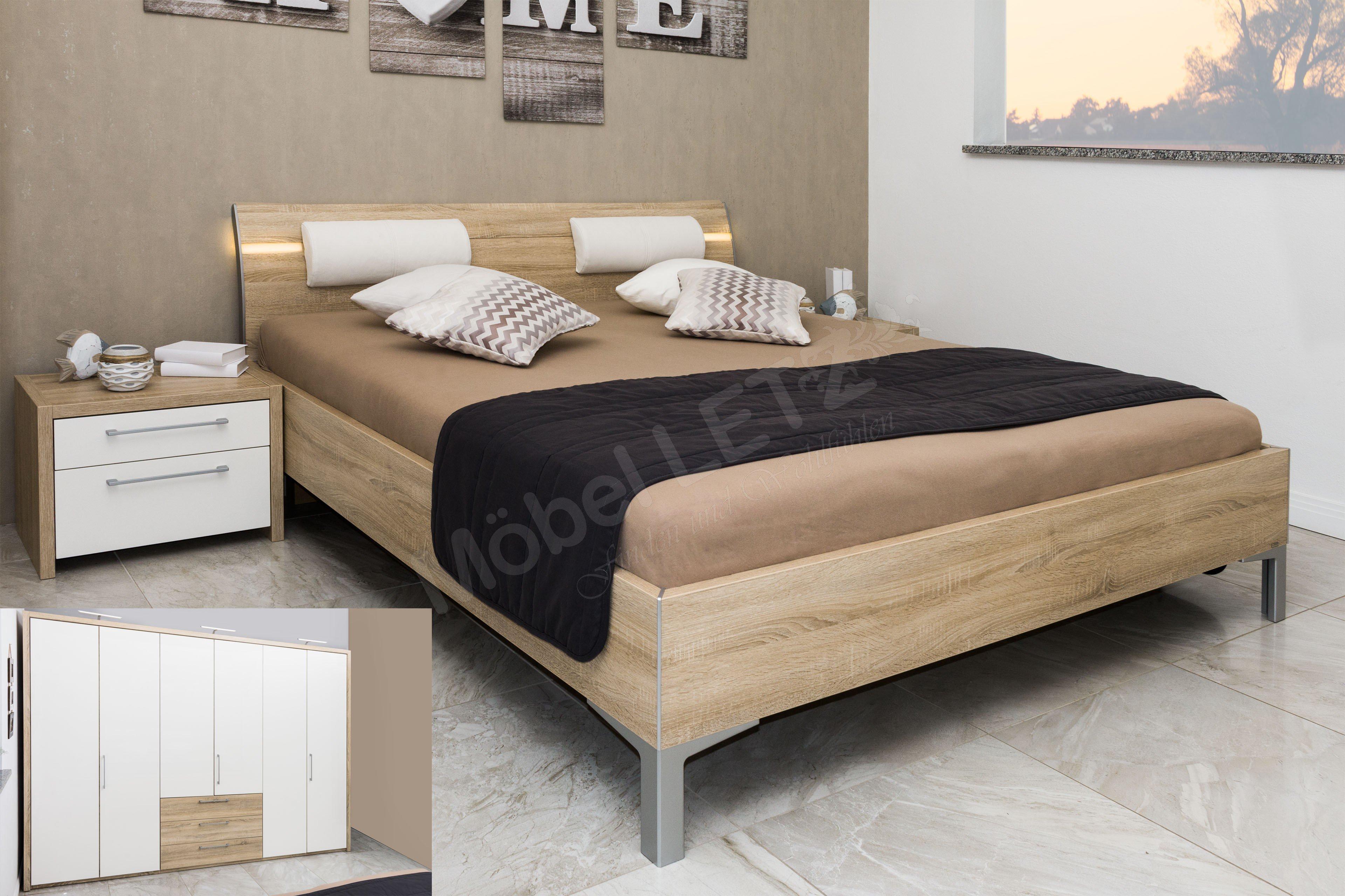 Loddenkemper Solo Nova Eiche-Weiß | Möbel Letz - Ihr Online-Shop