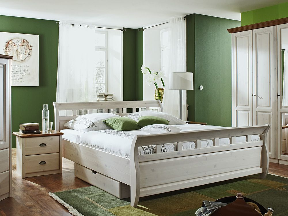 schlafzimmer landhaus grau moderne inspiration. Black Bedroom Furniture Sets. Home Design Ideas