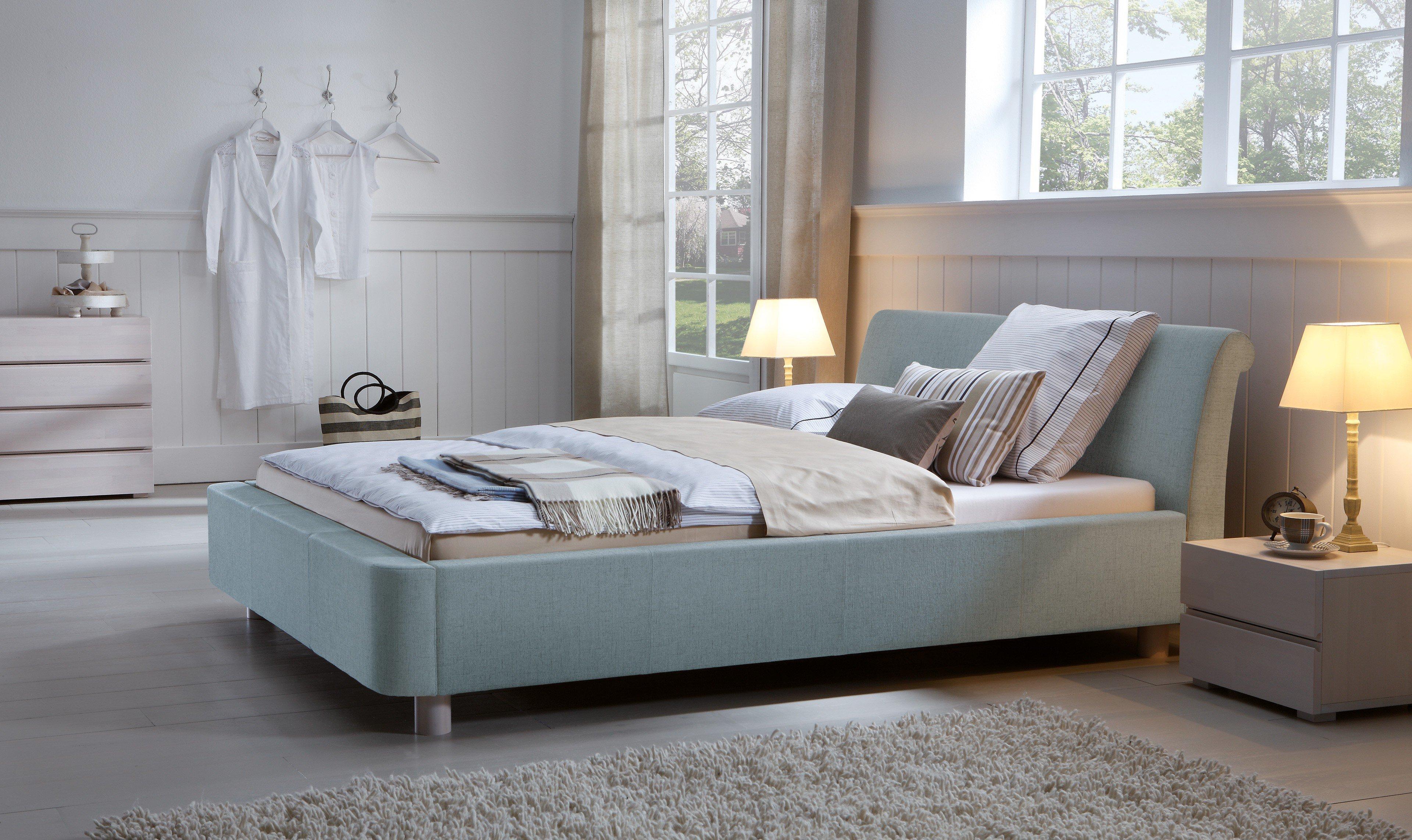 hasena dream line polsterbett zamo lagoon m bel letz. Black Bedroom Furniture Sets. Home Design Ideas