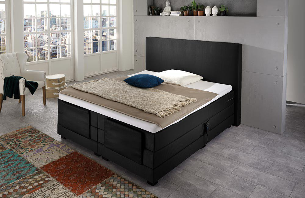 napco boxspringbett vogue mit motor m bel letz ihr online shop. Black Bedroom Furniture Sets. Home Design Ideas
