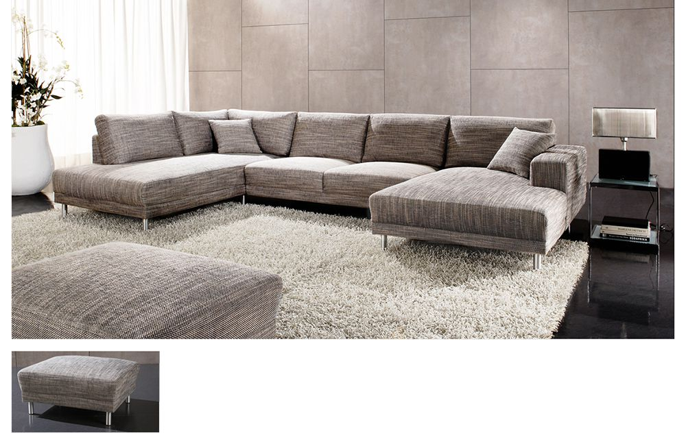 modesto base von candy wohnlandschaft grau polsterm bel g nstig online kaufen sofa couch. Black Bedroom Furniture Sets. Home Design Ideas