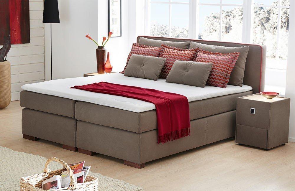 jockenh fer palermo boxspringbett braun m bel letz ihr online shop. Black Bedroom Furniture Sets. Home Design Ideas