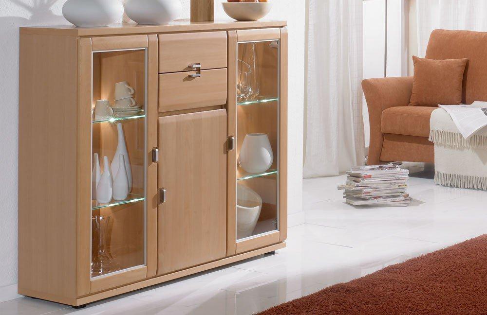 schr der m bel wohnwand mistral v4 buche m bel letz ihr online shop. Black Bedroom Furniture Sets. Home Design Ideas
