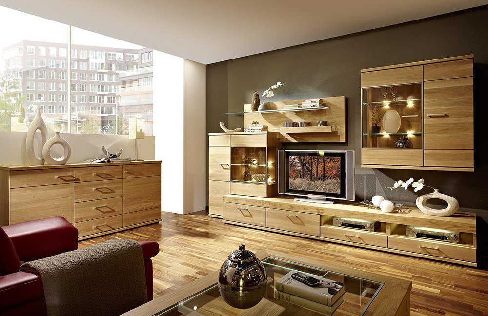 wohnzimmerm bel holz bilder neuesten design kollektionen f r die familien. Black Bedroom Furniture Sets. Home Design Ideas