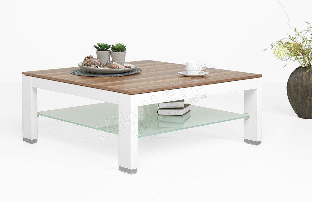 Gwinner Wohndesign Couchtisch Cth90b Weiß Nussbaum Möbel Letz