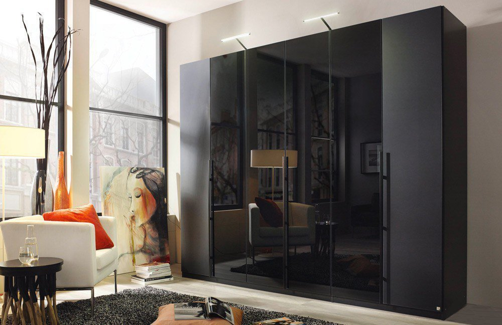 rauch bayamo kleiderschrank schwarz m bel letz ihr online shop. Black Bedroom Furniture Sets. Home Design Ideas