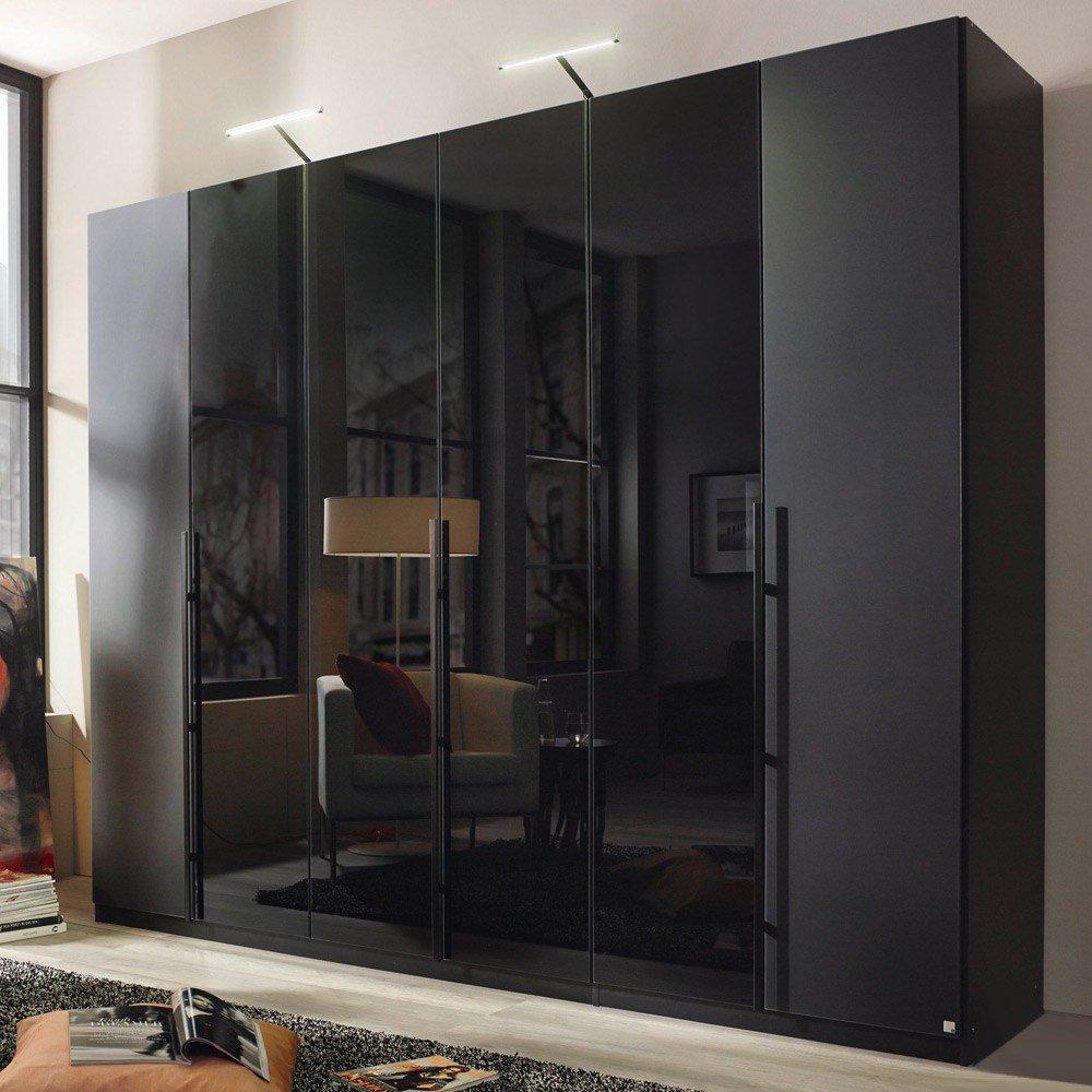 rauch bayamo kleiderschrank schwarz m bel letz ihr online shop. Black Bedroom Furniture Sets. Home Design Ideas