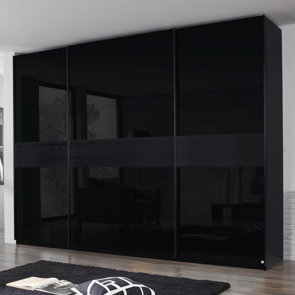schwebet renschrank schwarz matt. Black Bedroom Furniture Sets. Home Design Ideas