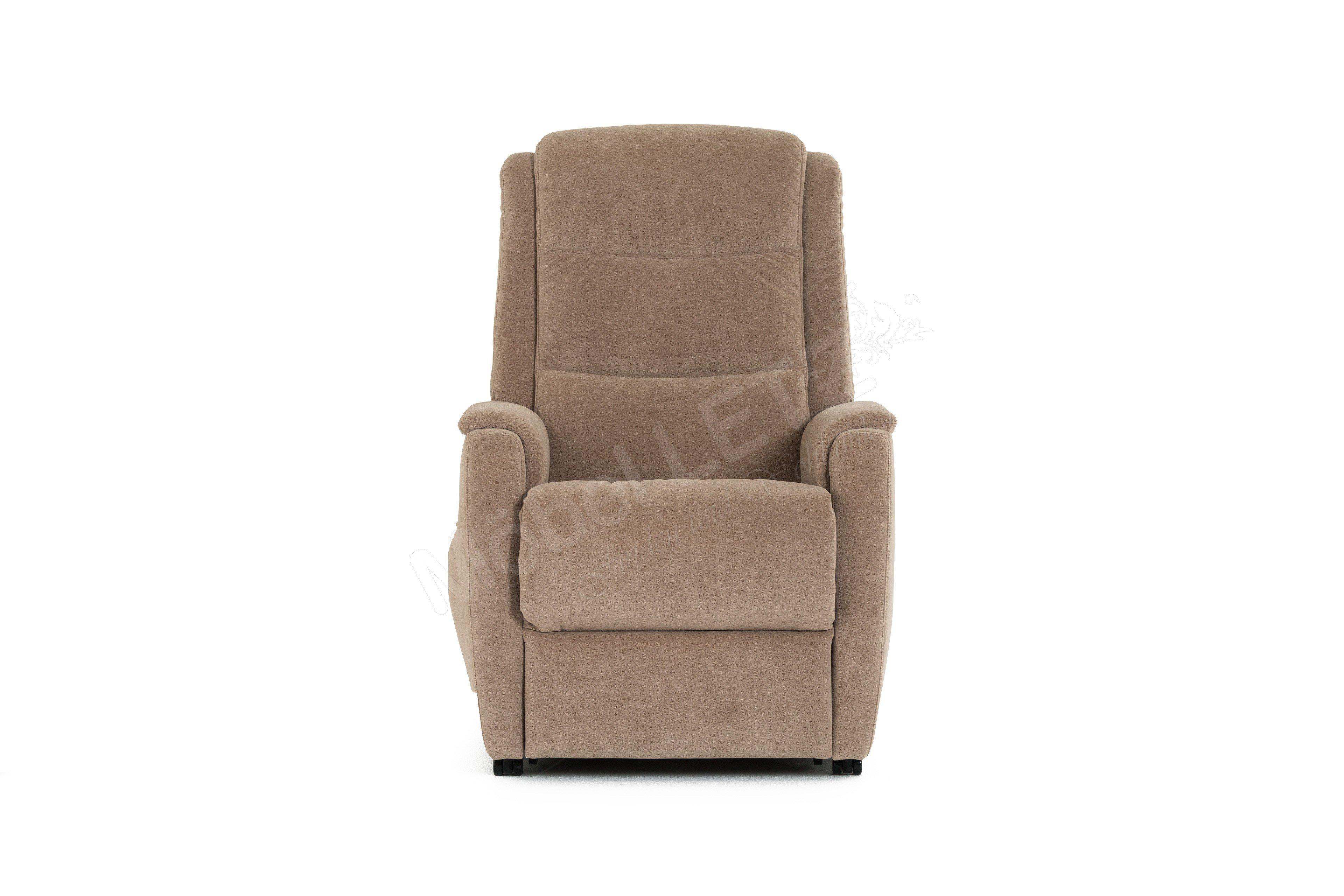 hukla relaxsessel rv82 in hellbraun m bel letz ihr online shop. Black Bedroom Furniture Sets. Home Design Ideas
