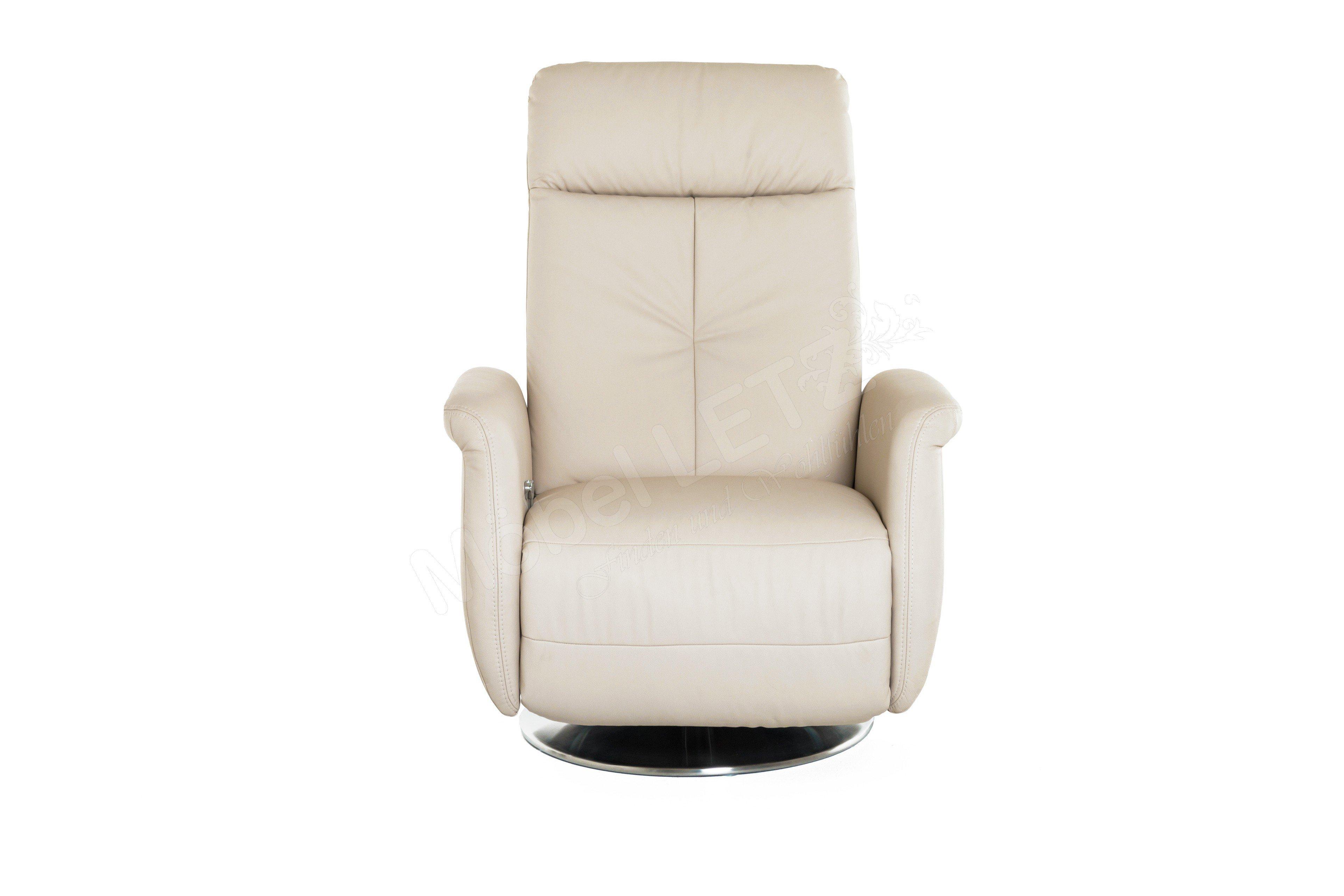 polinova polsterm bel waveline relaxsessel beige m bel letz ihr online shop. Black Bedroom Furniture Sets. Home Design Ideas