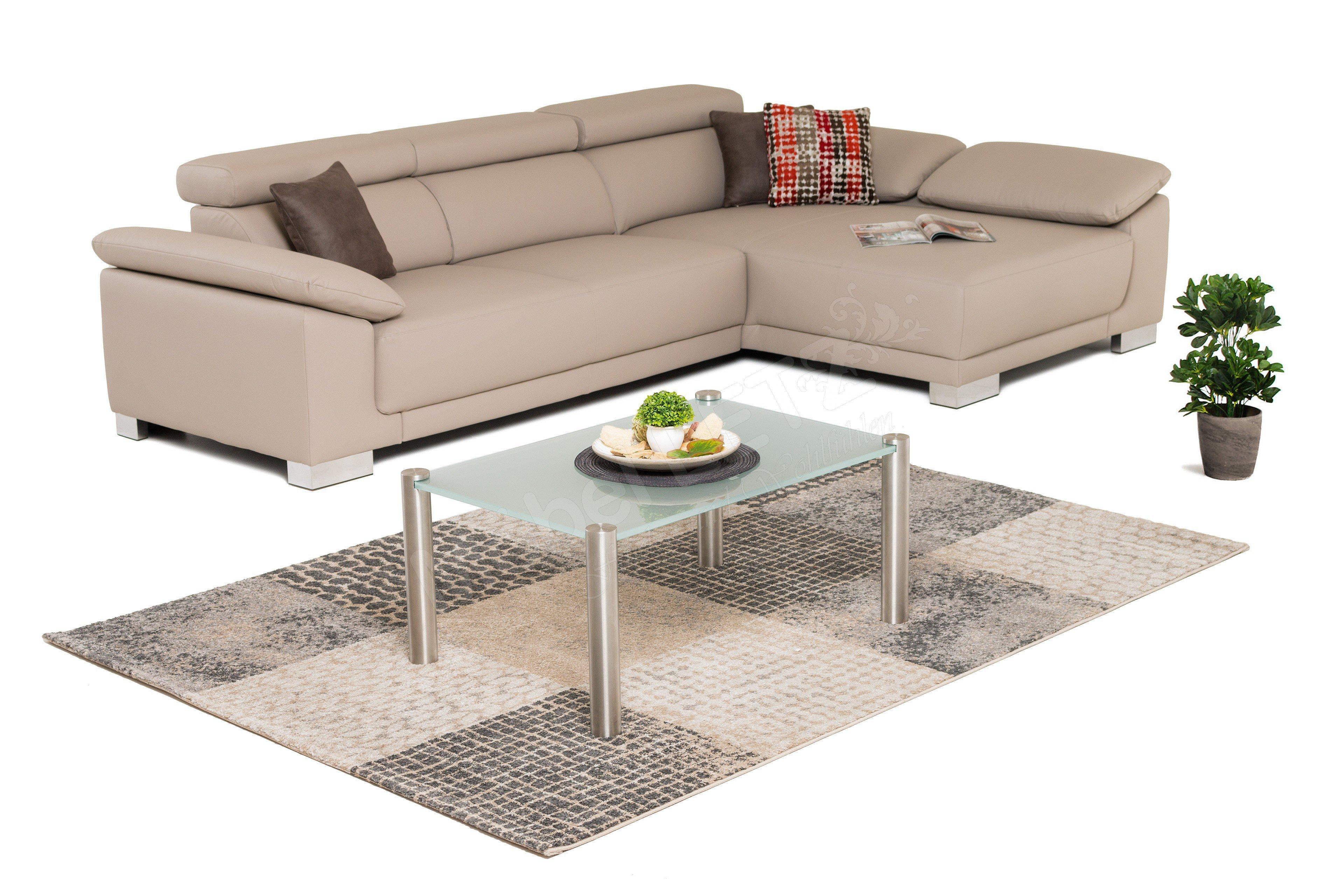 candy emporia ecksofa in grau beige m bel letz ihr. Black Bedroom Furniture Sets. Home Design Ideas