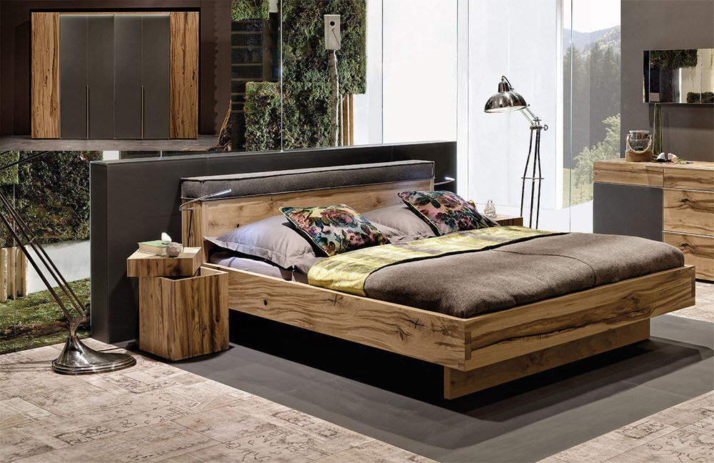 pur schlafzimmer eiche anthrazit m bel letz ihr online shop. Black Bedroom Furniture Sets. Home Design Ideas