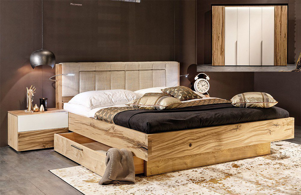voglauer v pur schlafzimmer eiche optiwhite m bel letz. Black Bedroom Furniture Sets. Home Design Ideas