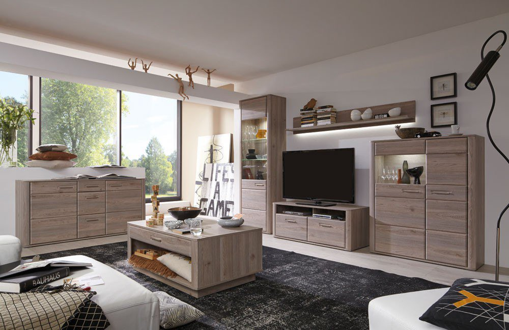 wohnwand i ravenna von mca m bel letz ihr online shop. Black Bedroom Furniture Sets. Home Design Ideas
