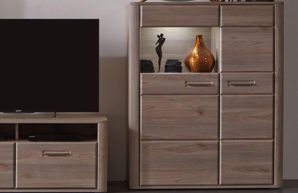 Wohnwand III Ravenna von MCA  Möbel Letz  Ihr OnlineShop