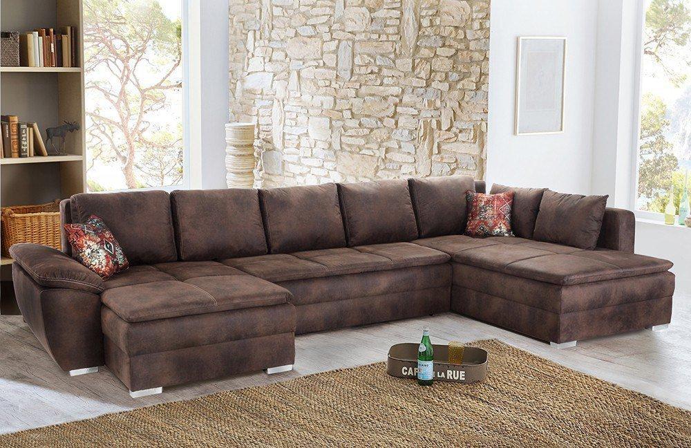 jockenh fer saragossa polstergarnitur braun m bel letz ihr online shop. Black Bedroom Furniture Sets. Home Design Ideas