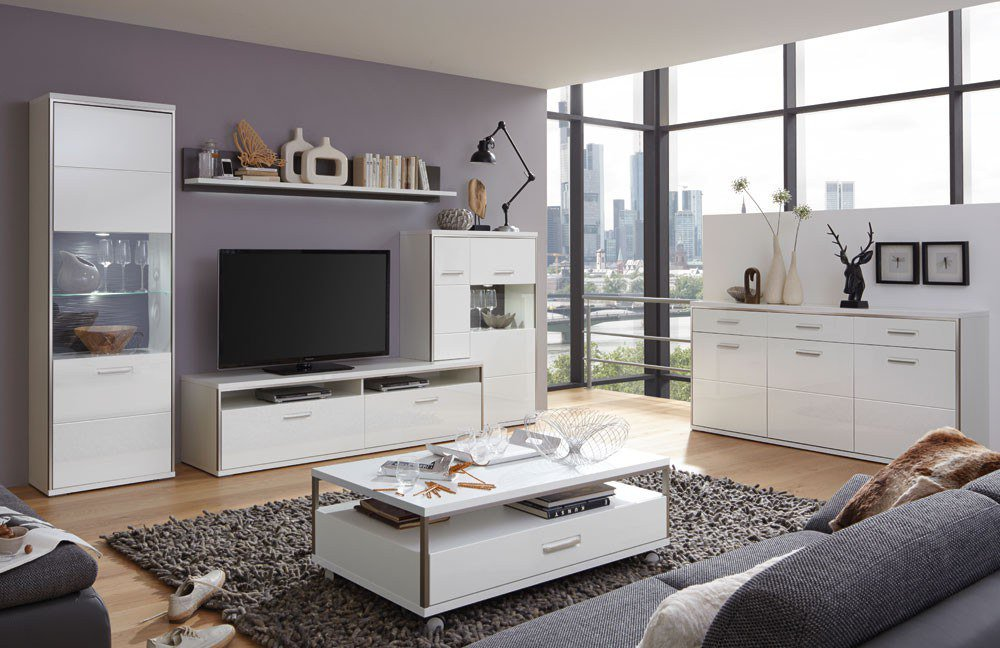 wohnwand vi trento karolina von mca m bel letz ihr online shop. Black Bedroom Furniture Sets. Home Design Ideas