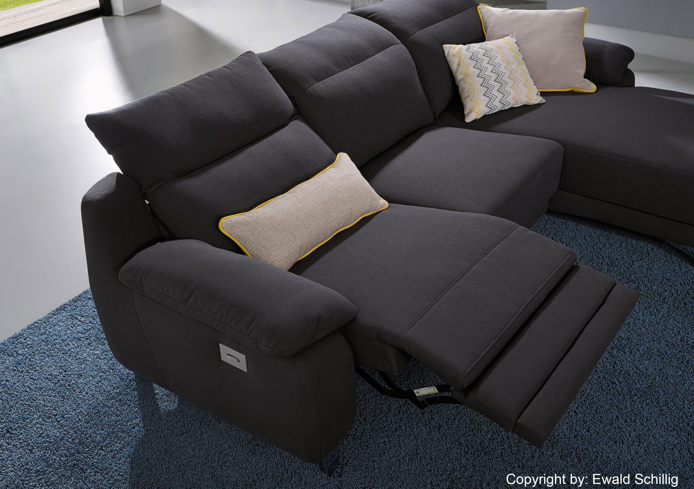 ewald schillig lexington ecksofa graphit m bel letz ihr online shop. Black Bedroom Furniture Sets. Home Design Ideas
