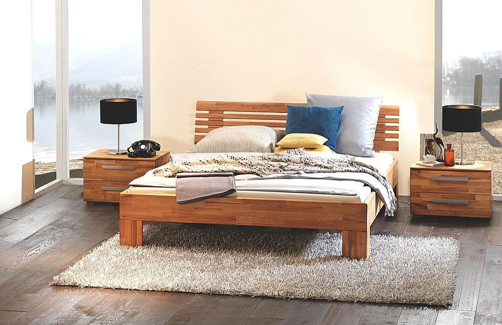 hasena wood line massa doppelbett kernbuche m bel letz. Black Bedroom Furniture Sets. Home Design Ideas