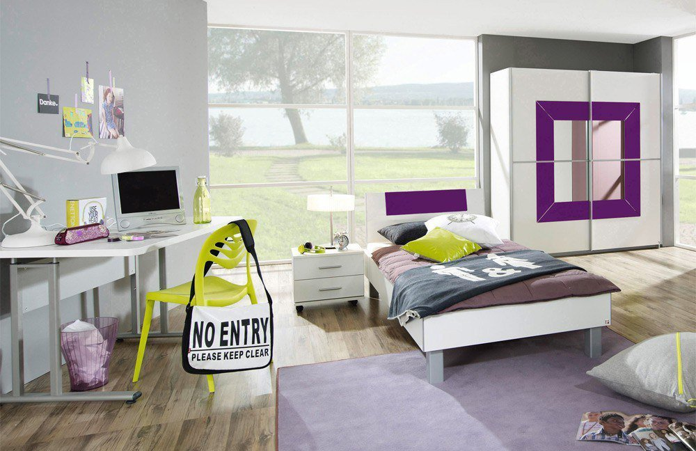 rauch georgia jugendzimmer glas pink m bel letz ihr online shop. Black Bedroom Furniture Sets. Home Design Ideas