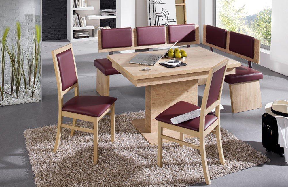 sch sswender eckbank kreta sonoma eiche rotbraun m bel. Black Bedroom Furniture Sets. Home Design Ideas
